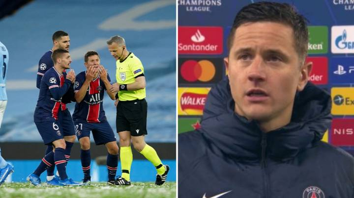 Ander Herrera Made Some Bizarre Claims After Manchester City Beat PSG