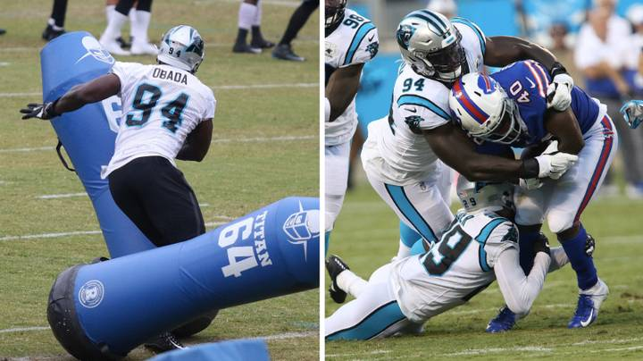 Efe Obada Exclusive: I Need 7,000 Calories A Day To Be 125kg NFL Lineman…But My Cheat Meal Is KFC, McDonald's AND Burger King!