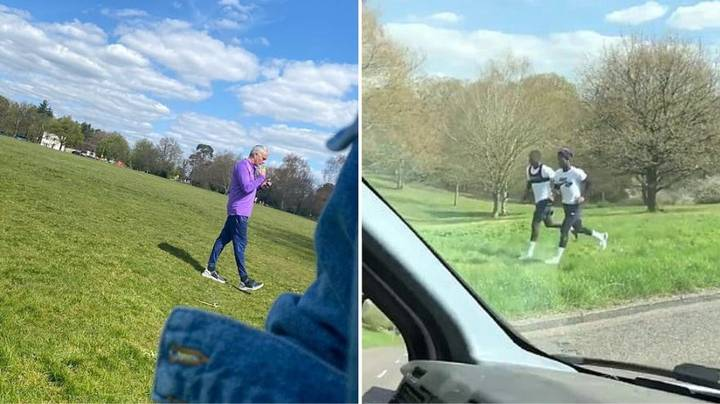 Footage Emerges From Jose Mourinho's Training Session With Spurs Players