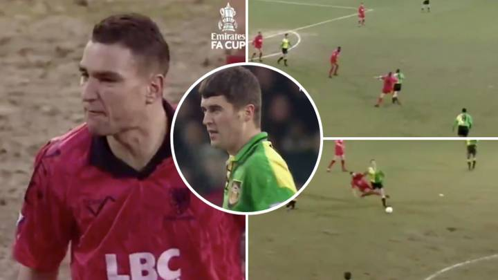When Roy Keane And Vinnie Jones Met On The Pitch In Ultimate Battle Of Football's Hardmen