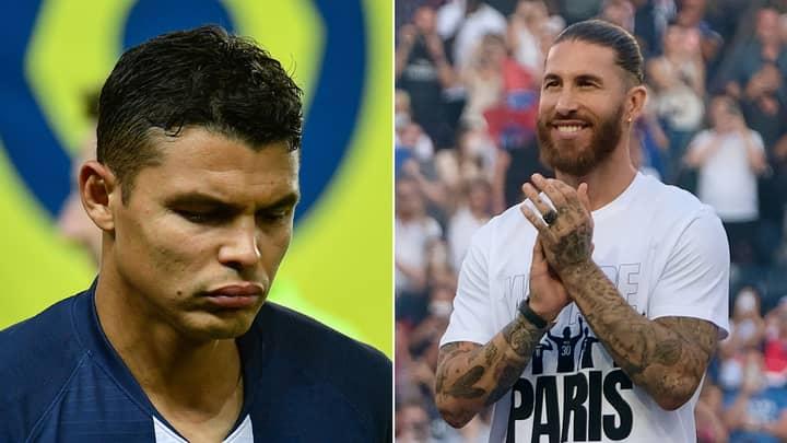 Thiago Silva Explains Why Paris Saint-Germain Signing Sergio Ramos Made Him 'Truly Sad'