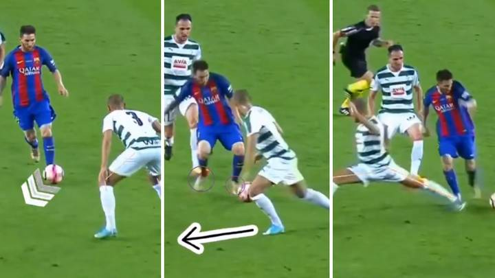 Breakdown Of Lionel Messi's Supreme Dribbling Ability Proves He's Superhuman