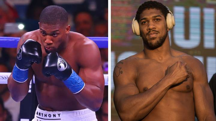 Anthony Joshua Side-By-Side After Weight Loss Ahead Of Andy Ruiz Rematch