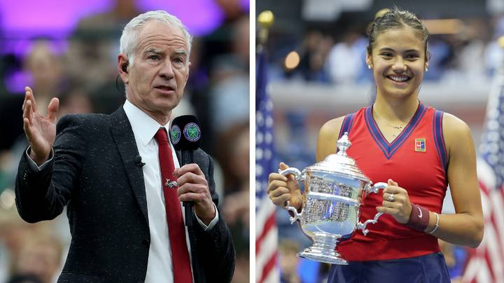 John McEnroe Doubles Down On His Controversial Emma Raducanu Comments