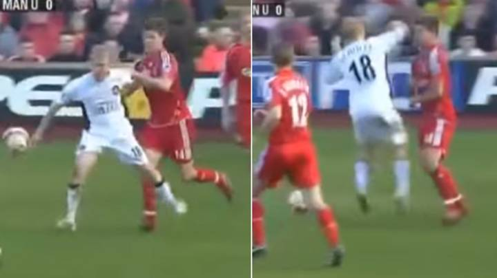 Remembering The Time Paul Scholes Tried To Punch Xabi Alonso During Manchester United's Trip To Liverpool In 2007