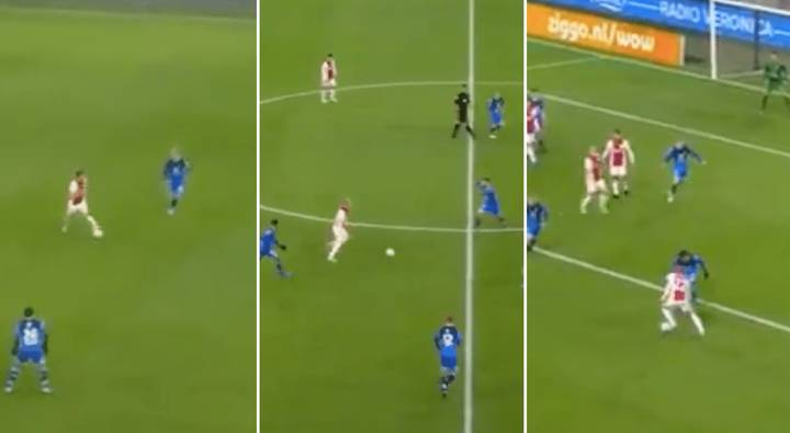 Quincy Promes Rounds Off Stunning Team Goal For Ajax Against Heracles