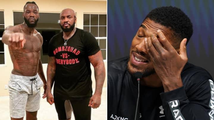 Deontay Wilder's Coach Responds To A Fan Calling Anthony Joshua A 'Bum'