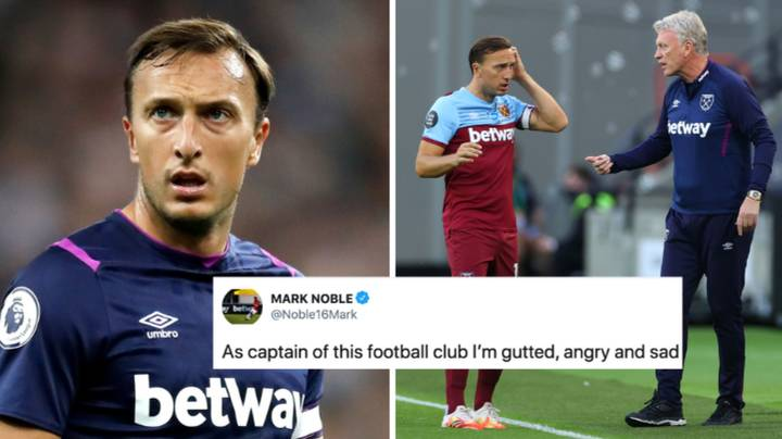 Mark Noble Angrily Reacts To West Ham Selling Grady Diangana For £18 Million