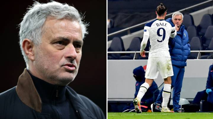 Jose Mourinho Takes Dig At Gareth Bale For His Performances At Tottenham Hotspur