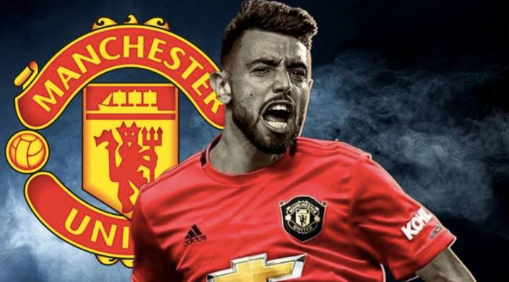 Manchester United Announce Deal To Sign Bruno Fernandes From Sporting Lisbon