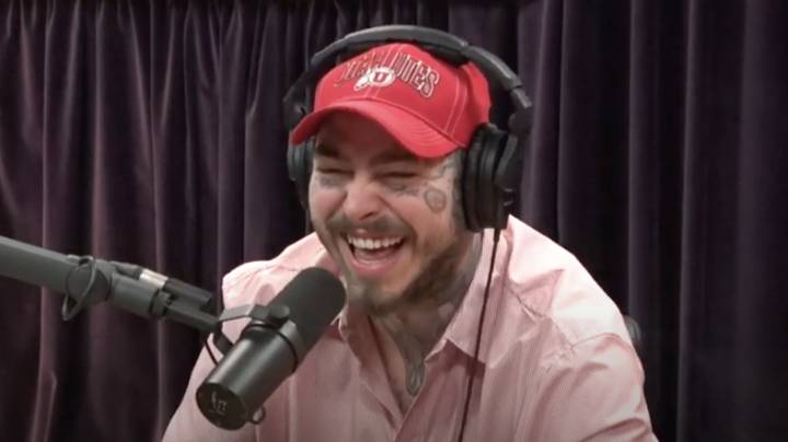 Post Malone And Joe Rogan Did A 3.5 Hour Podcast Together While High On Mushrooms