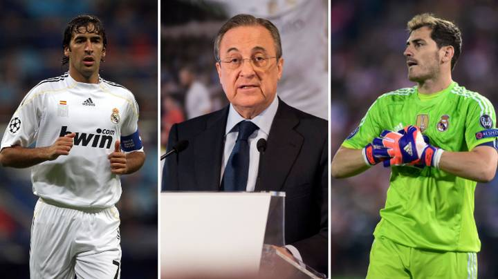 """Real Madrid President Florentino Perez Calls Raul And Iker Casillas """"Great Frauds"""" In Leaked Audio"""