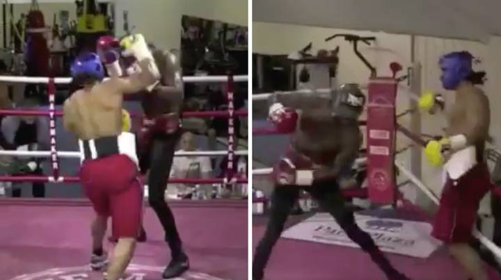 David Haye Wiped The Floor With Deontay Wilder In This 2013 Sparring Footage