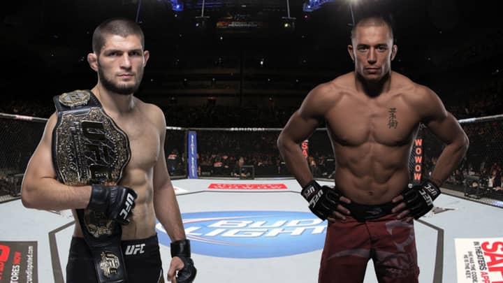 UFC Champion Khabib Nurmagomedov Wants To Fight Georges St-Pierre In November