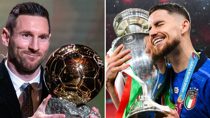 Euro 2020 Italy Hero Backed To CHALLENGE Jorginho And Lionel Messi For 2021 Ballon d'Or