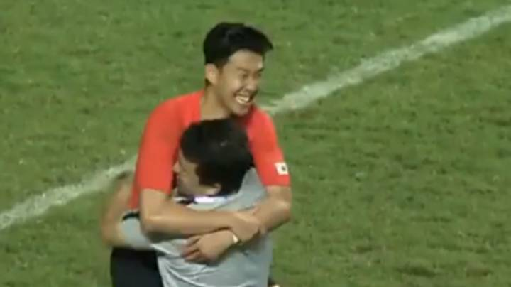 Heung-Min Son's Reaction To Asian Games Triumph Is Just Beautiful
