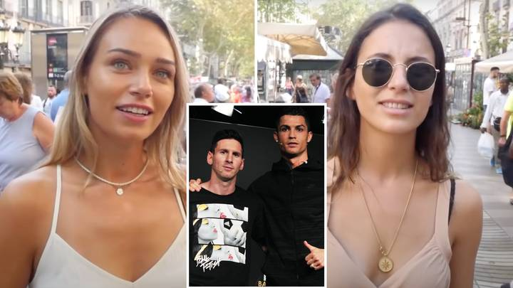Girls Asked Who They Would Rather Date Out Of Lionel Messi And Cristiano Ronaldo