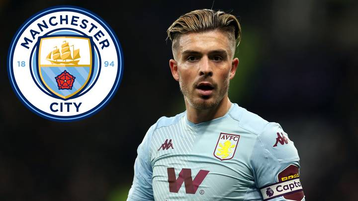 Manchester City Odds-On Favourites To Sign Jack Grealish