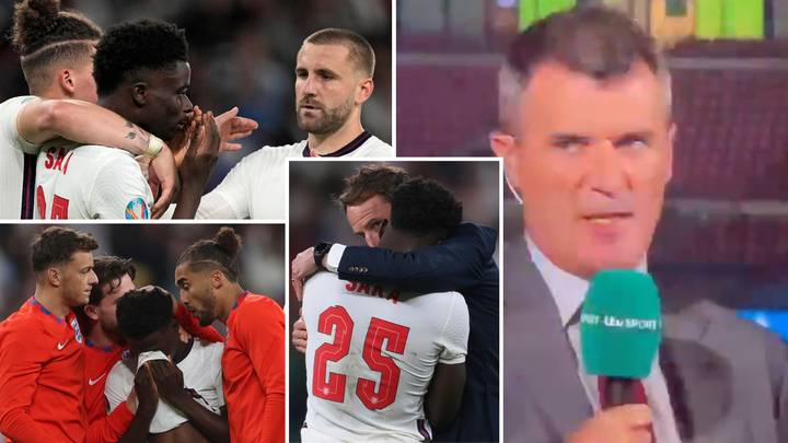 Roy Keane Ruthlessly Slams Two England Stars After Bukayo Saka's Penalty Miss Against Italy