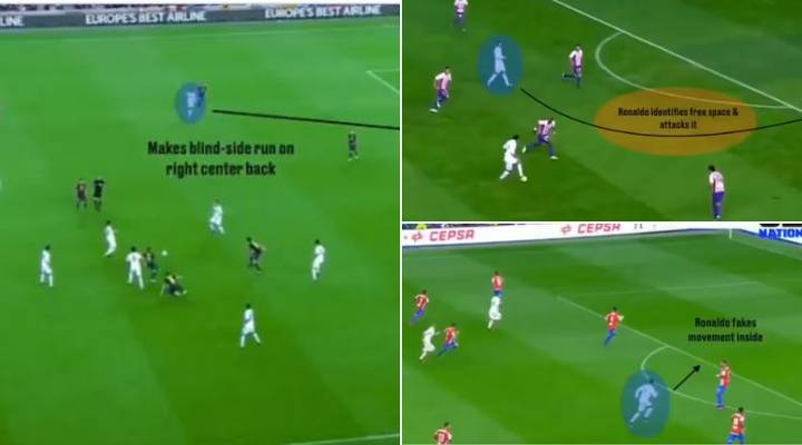 Video Proves Cristiano Ronaldo's Off-The-Ball Movement Is The Best In The World
