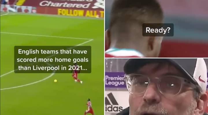 Crewe Alexandra Mock Liverpool's Scoring Record With Savage TikTok Video