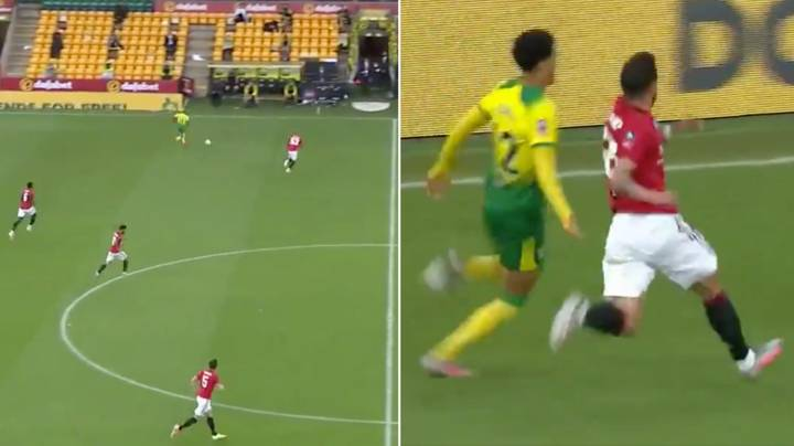 Manchester United's Bruno Fernandes Displayed Incredible Work Rate In Extra Time