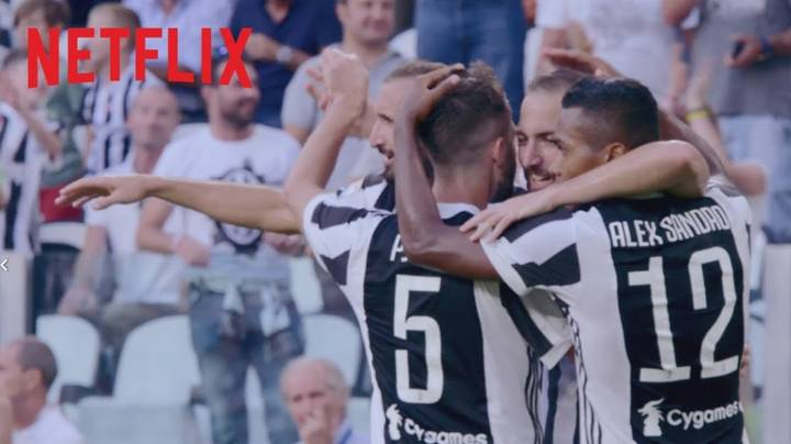 Netflix Are Releasing A 'Behind the Scenes' Original About The Juventus First Team