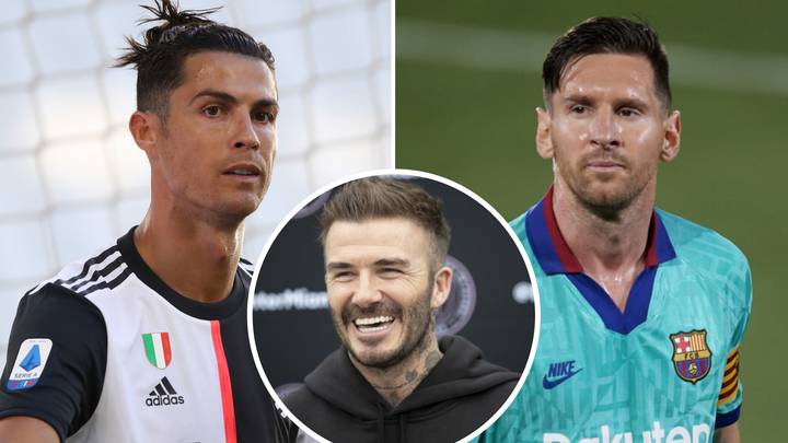 David Beckham Reveals Who Is Better Out Of Cristiano Ronaldo And Lionel Messi
