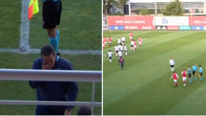 Referee Ends Braga-Benfica Game Early After Player Learns Of Mother's Tragic Death