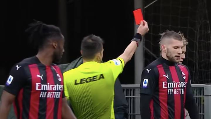 Ante Rebic Given A Two-Game Ban For Telling Referee, 'I Saw Your Mother Being A Prostitute In Naples'