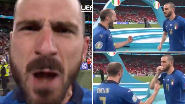 Leonardo Bonucci Brutally Trolls England Fans By Telling Them To 'Eat More Pasta' After Italy's Euro 2020 Win