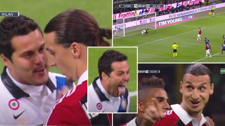 Julio Cesar Once Tried To Psych Out Zlatan Ibrahimovic Before Taking A Penalty - He Failed Miserably