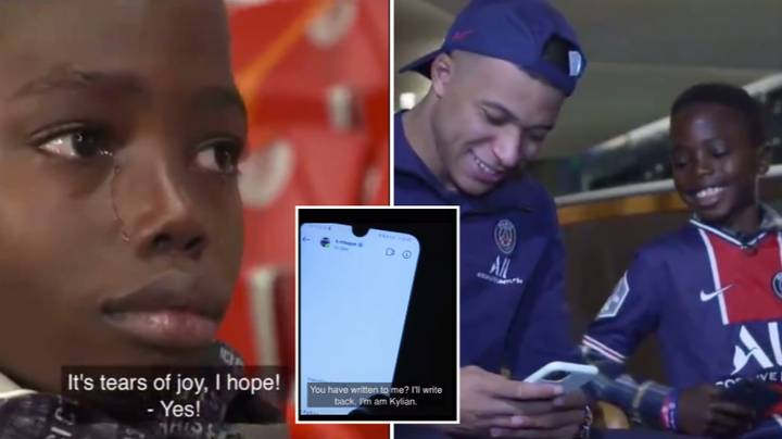Young Kid Meets His Idol Kylian Mbappe And It's The Most Wholesome Content You'll See Today