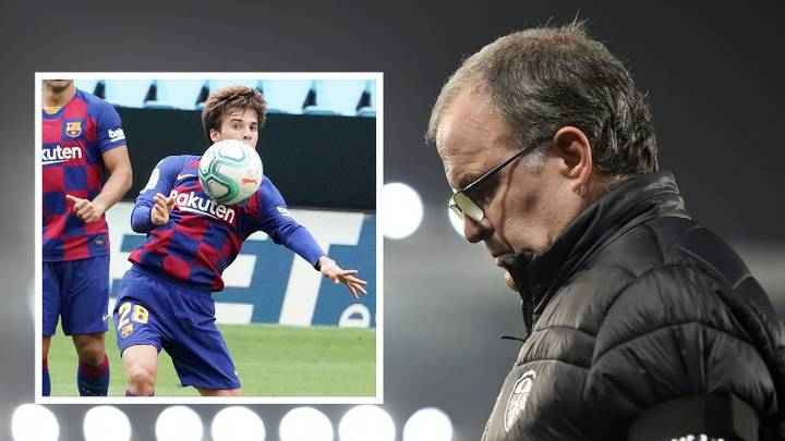 Barcelona Want Riqui Puig To Join Leeds United On Loan Because Of Marcelo Bielsa
