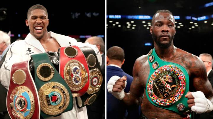 Anthony Joshua Sends Message Over Potential Deontay Wilder Fight
