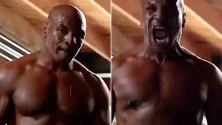 """Mike Tyson Is A """"Shredded Beast"""" At 54-Years-Old And Fans Are Worried For Roy Jones Jr"""
