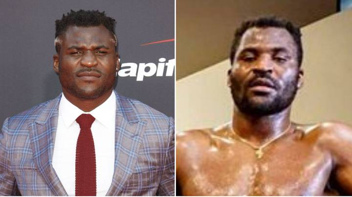 Francis Ngannou Is Looking Seriously Jacked Ahead Of UFC 249