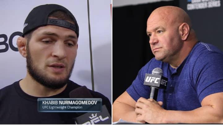 Khabib Wants To 'Tend To His Farm' As He Dismisses Dana White's UFC Comeback Talks