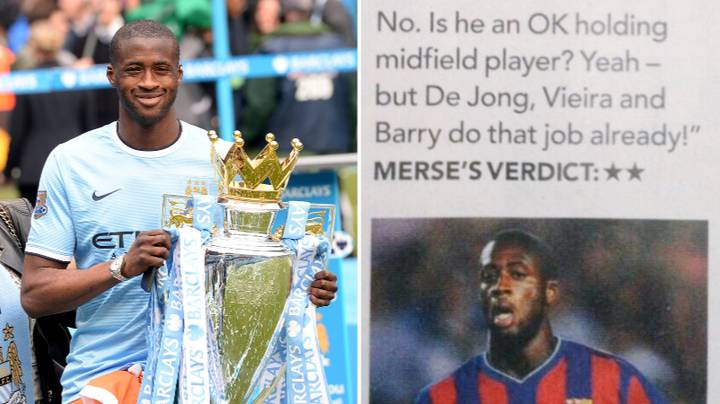 Paul Merson's 42-Word Column On Yaya Toure When He Signed For Manchester City In 2010 Is Priceless