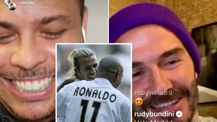 David Beckham And Ronaldo Nazario Want To Organise A Real Madrid Legends Friendly