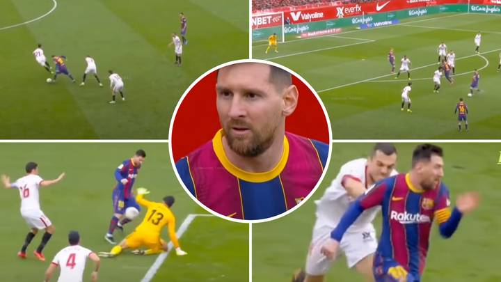 Lionel Messi Compilation Vs Sevilla Shows Why He Is Back To His World-Class Best For Barcelona