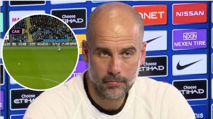 Pep Guardiola Asked In Press Conference Why Man City Struggle To Sell Tickets