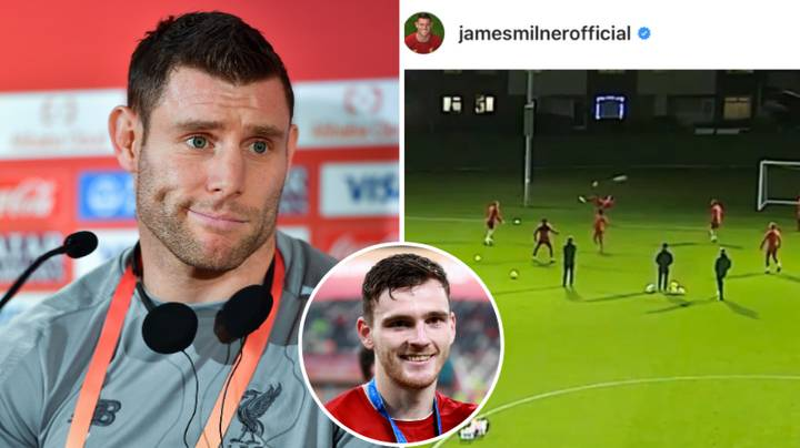 James Milner Rinses Andy Robertson With Brilliant New Year's Day Post