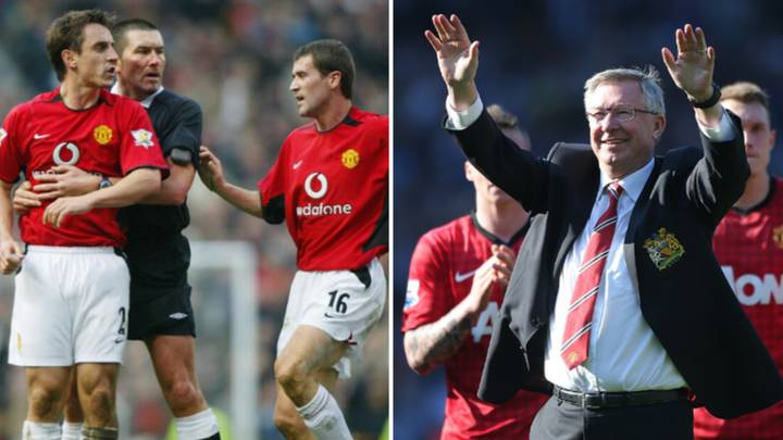 Roy Keane And Gary Neville Negotiated A Contract With Sir Alex Ferguson For Manchester United Youngster