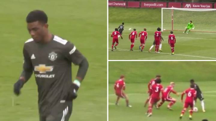 Amad Diallo's Individual Highlights On His Debut Against Liverpool Are Sending Fans Wild