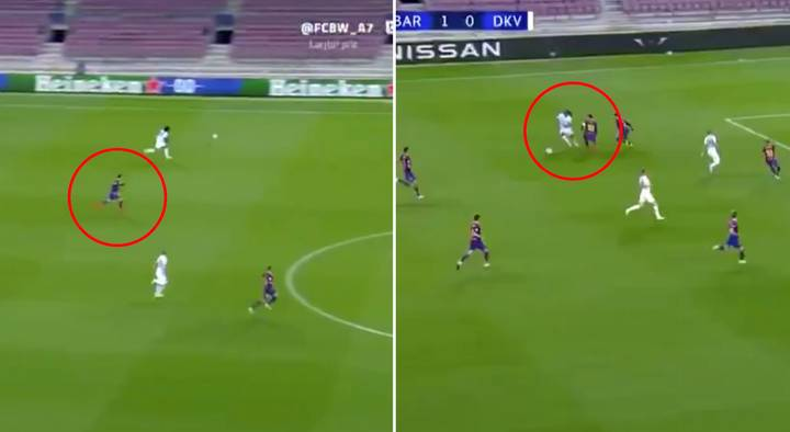 Lionel Messi Fans Respond To 'Lazy Defending' Clip With Another Video From Dynamo Kiev Game