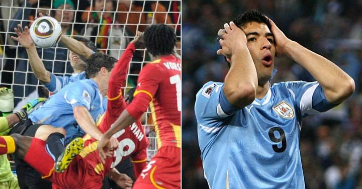 On This Day: Luis Suarez's 'Hand Of God' Put Uruguay Into A World Cup Semi-Final