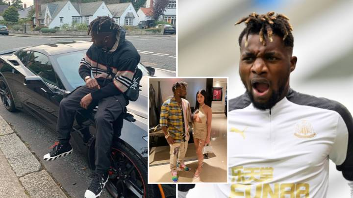 Allan Saint-Maximin 'Gets Fined Every Day' When He Arrives At Newcastle Training