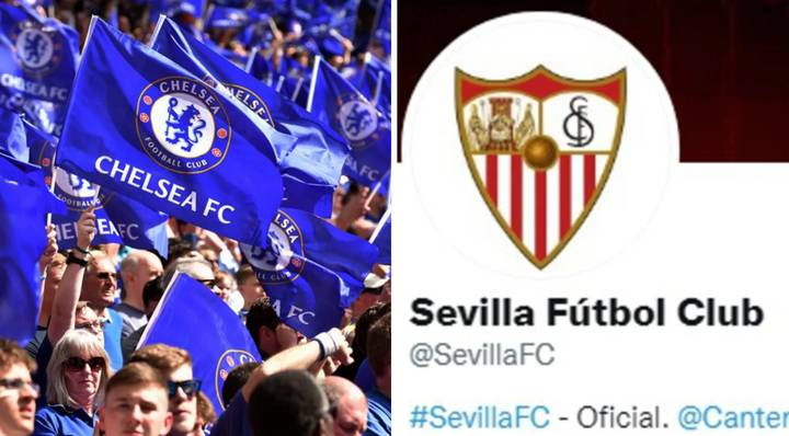 Chelsea Fans Have Reported Sevilla So Many Times Over Transfer Controversy That They've Lose Their Twitter Verification
