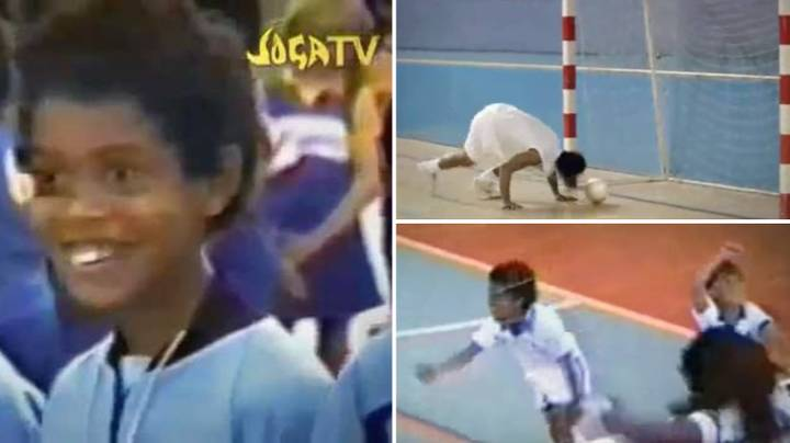 Ronaldinho's Famous 'Joga Bonito' Advert When He Was A Kid Will Always Be A Classic